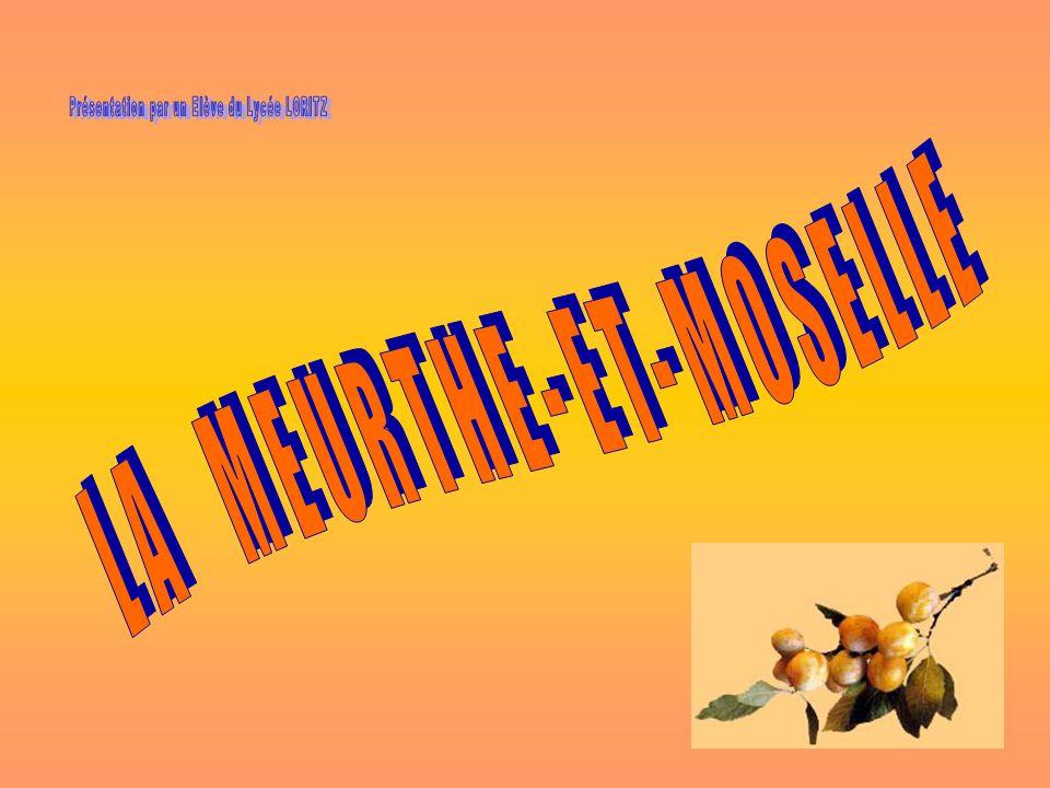 LA MEURTHE-ET-MOSELLE