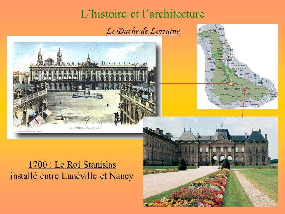L'histoire et l'architecture