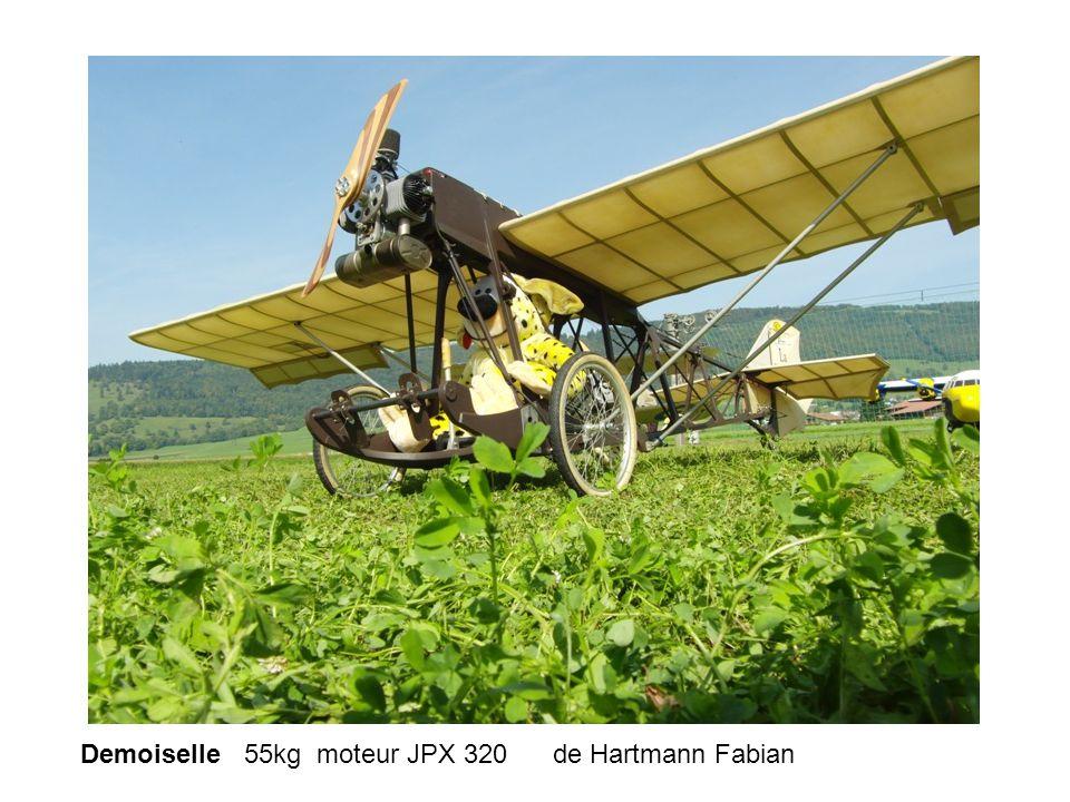 Demoiselle 55kg moteur JPX 320 de Hartmann Fabian