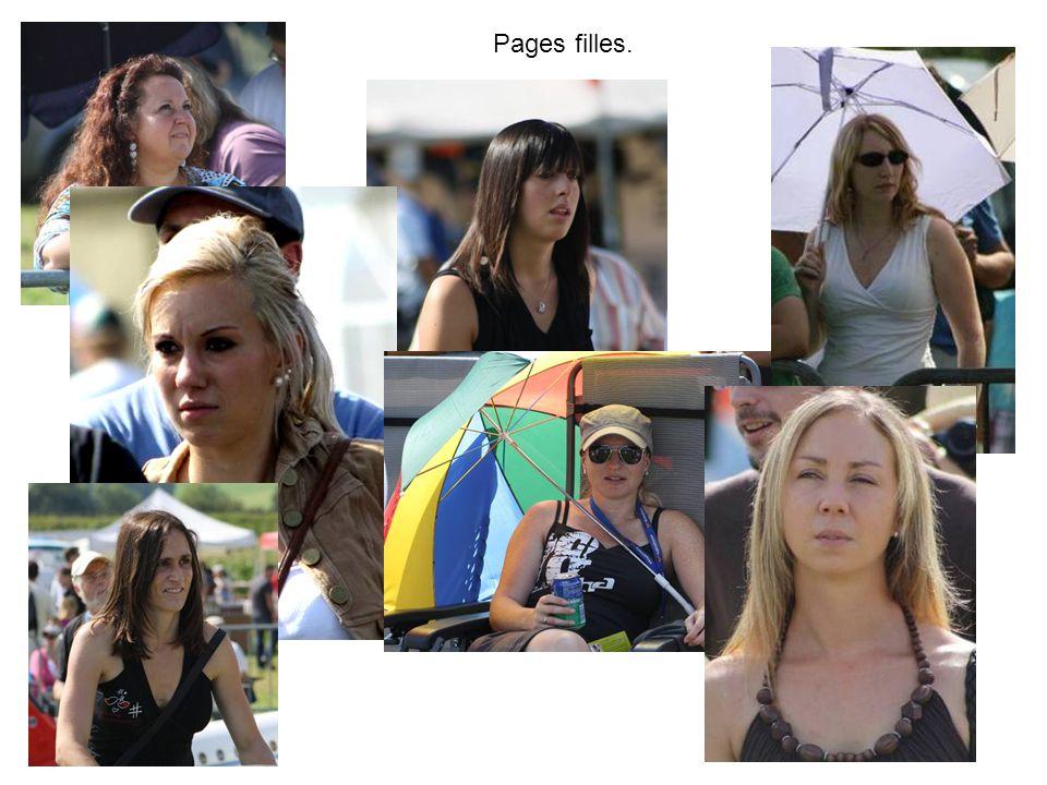 Pages filles.