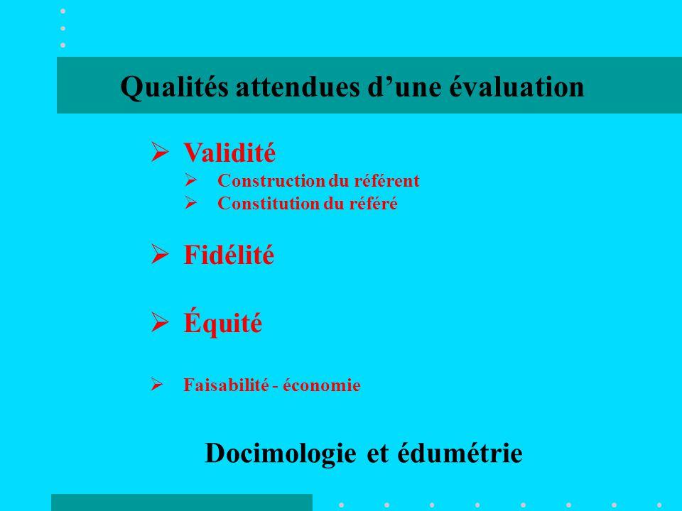 Docimologie et édumétrie