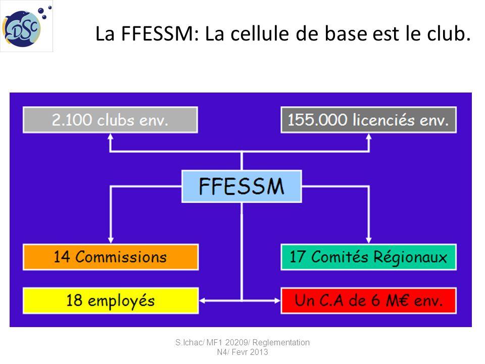 La FFESSM: La cellule de base est le club.