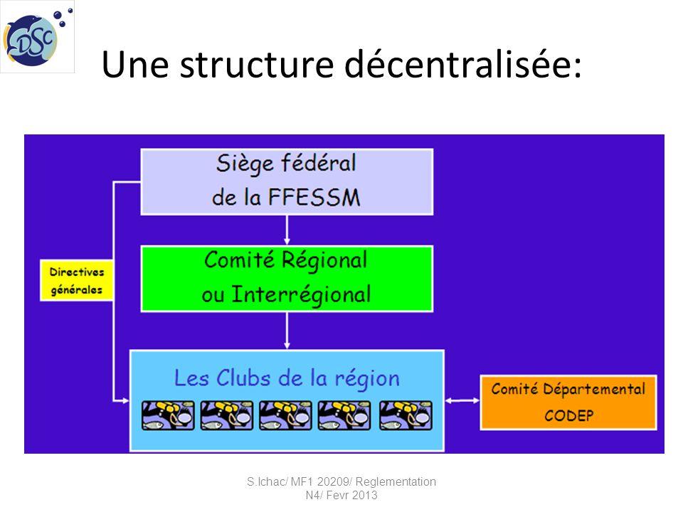 Une structure décentralisée: