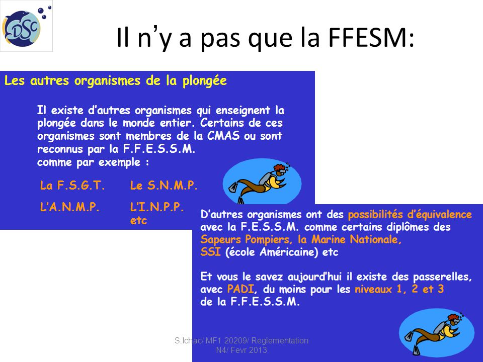 Il n'y a pas que la FFESM: