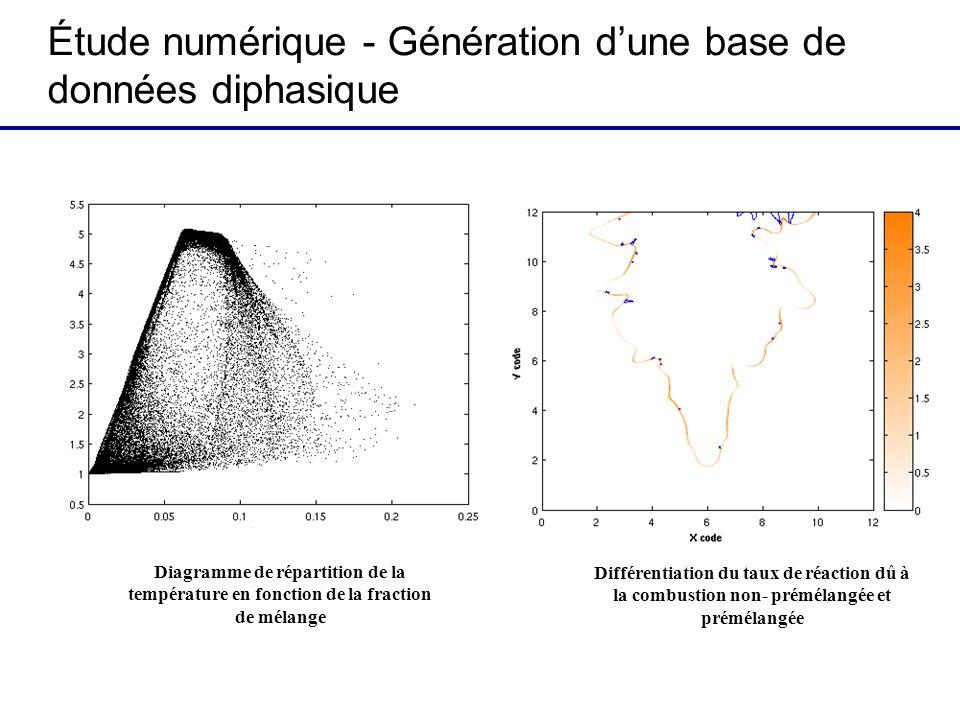 Étude numérique - Génération d'une base de données diphasique