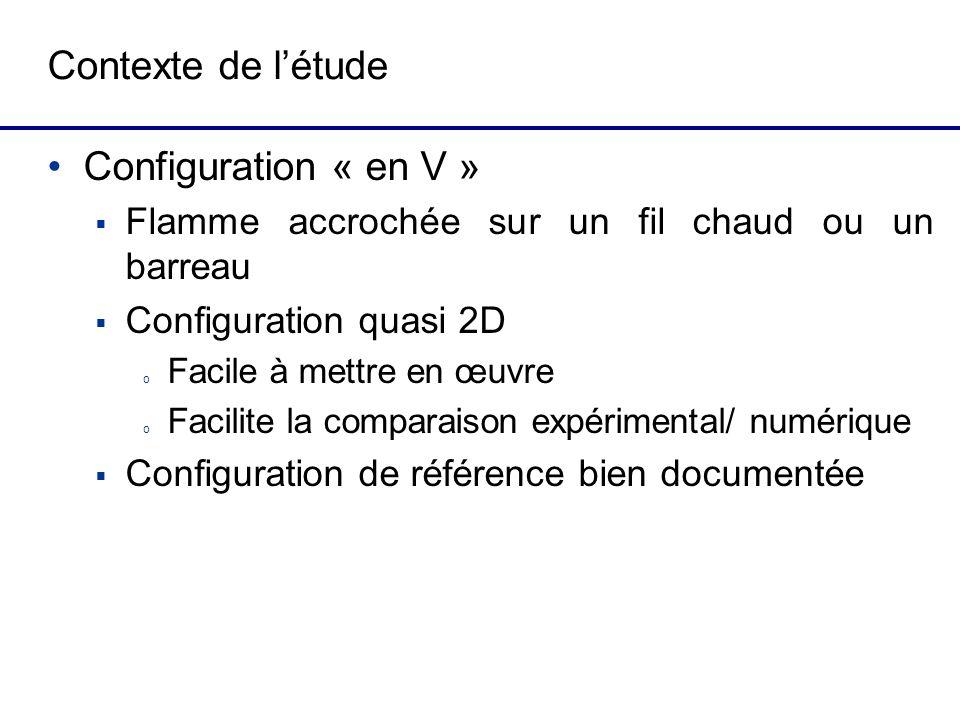 Contexte de l'étude Configuration « en V »