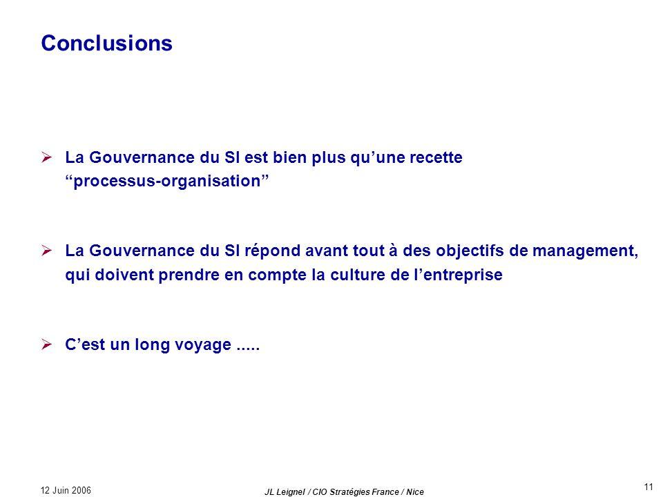 JL Leignel / CIO Stratégies France / Nice