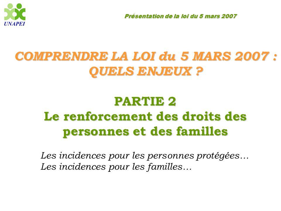 COMPRENDRE LA LOI du 5 MARS 2007 : QUELS ENJEUX PARTIE 2