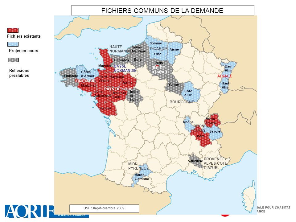 FICHIERS COMMUNS DE LA DEMANDE
