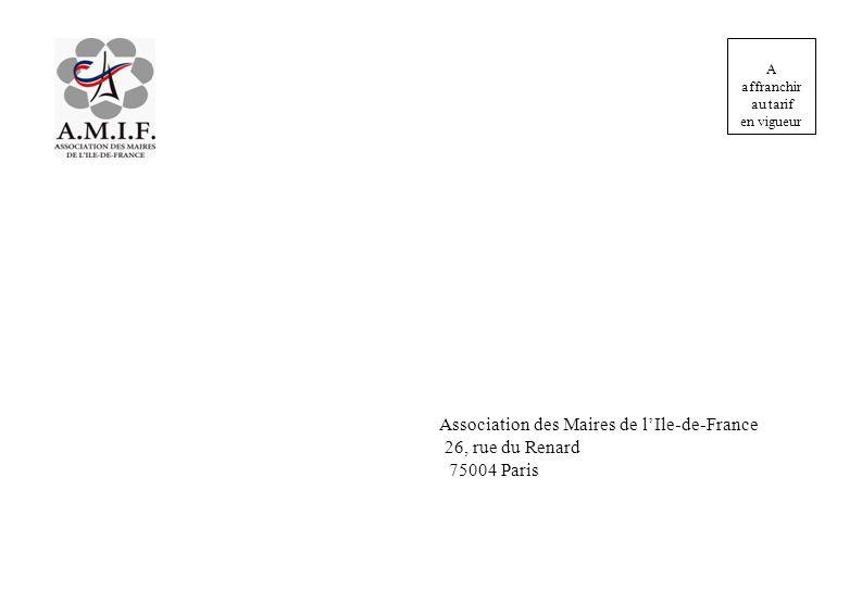 Association des Maires de l'Ile-de-France