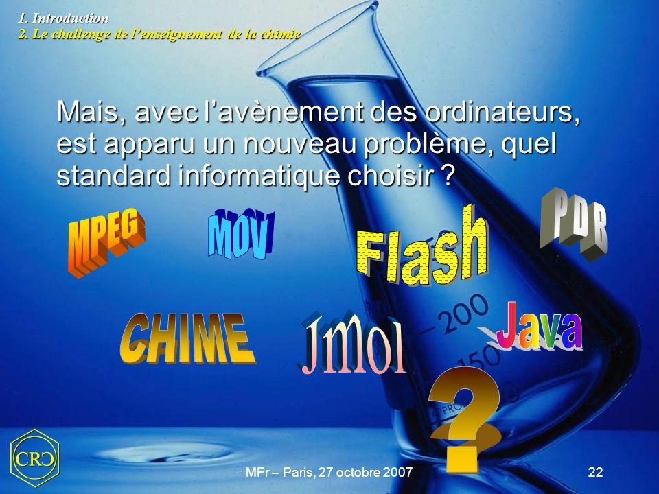 Flash P D B MPEG M O V Jmol Java CHIME