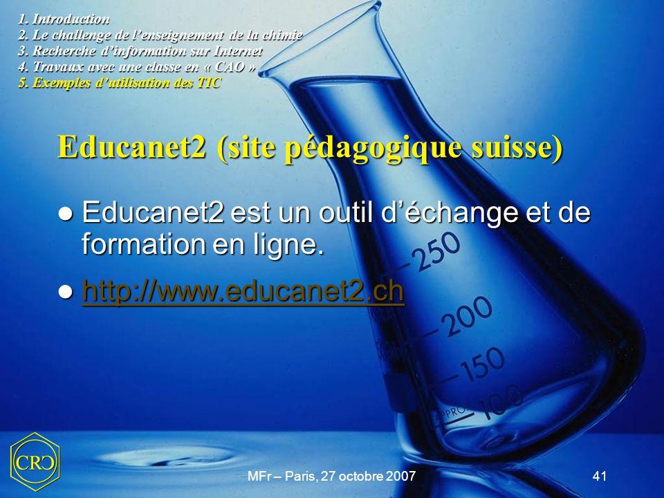 Educanet2 (site pédagogique suisse)
