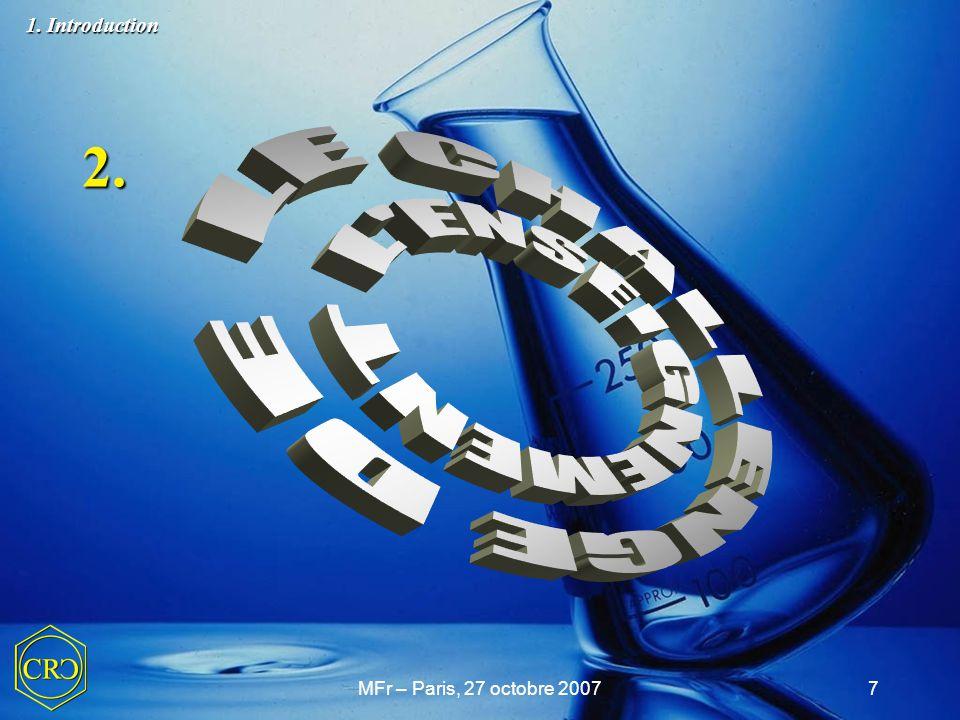 2. LE CHALLENGE DE L ENSEIGNEMENT 1. Introduction