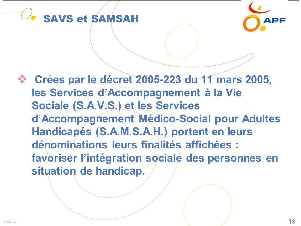 SAVS et SAMSAH
