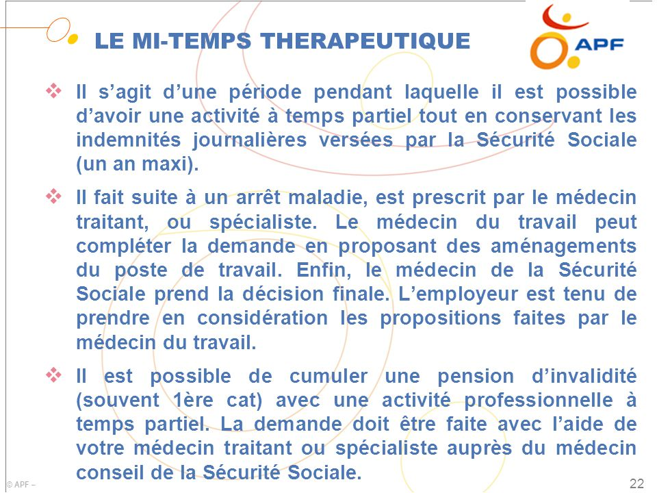 LE MI-TEMPS THERAPEUTIQUE