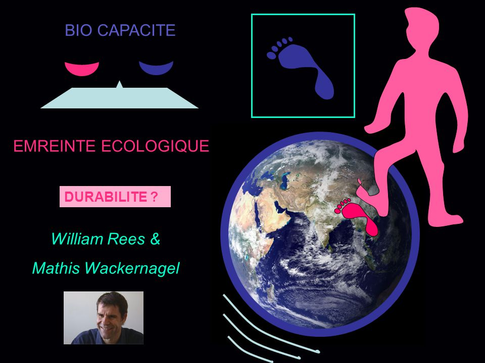BIO CAPACITE EMREINTE ECOLOGIQUE William Rees & Mathis Wackernagel
