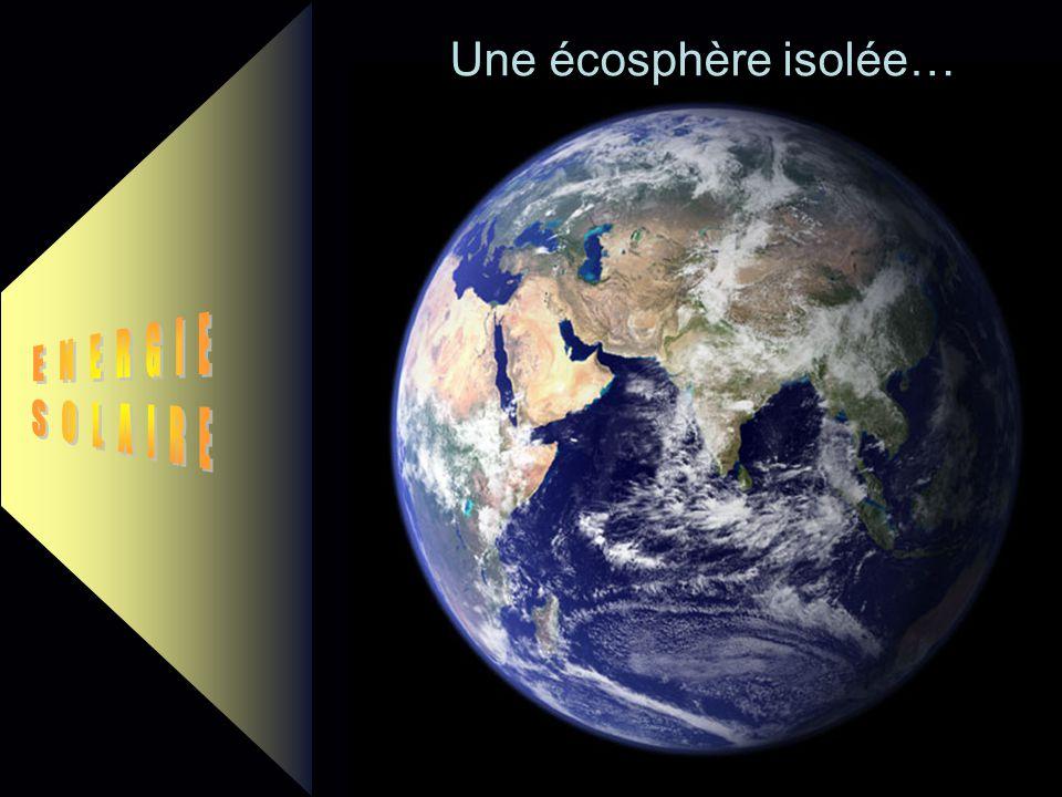 Une écosphère isolée… ENERGIE SOLAIRE