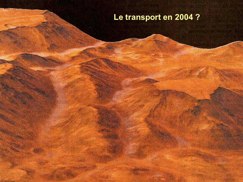Le transport en 2004