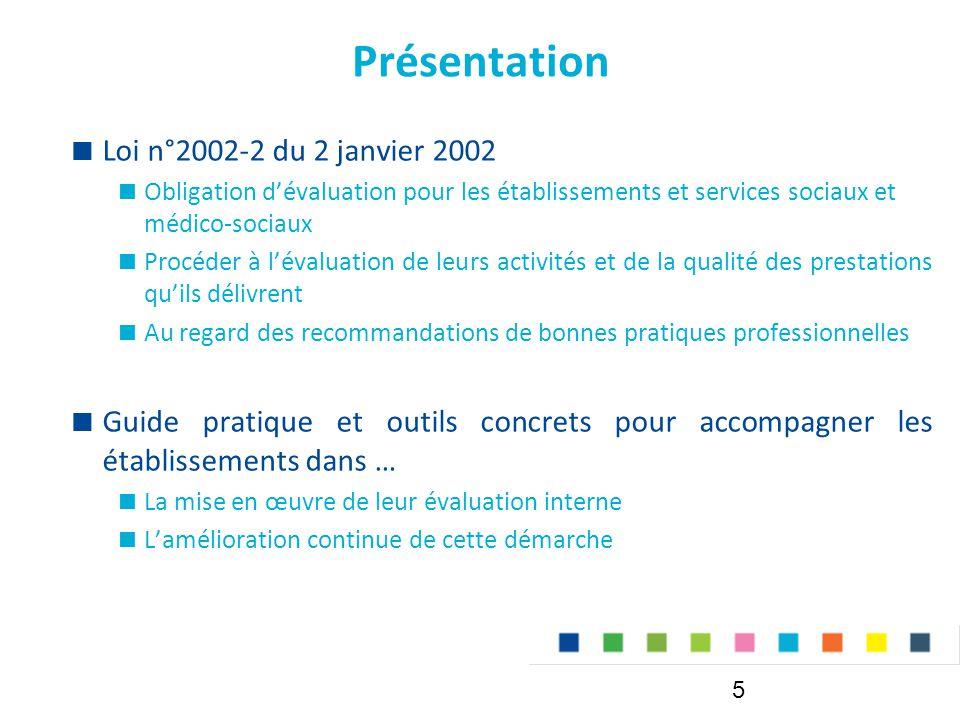 Présentation Loi n°2002-2 du 2 janvier 2002