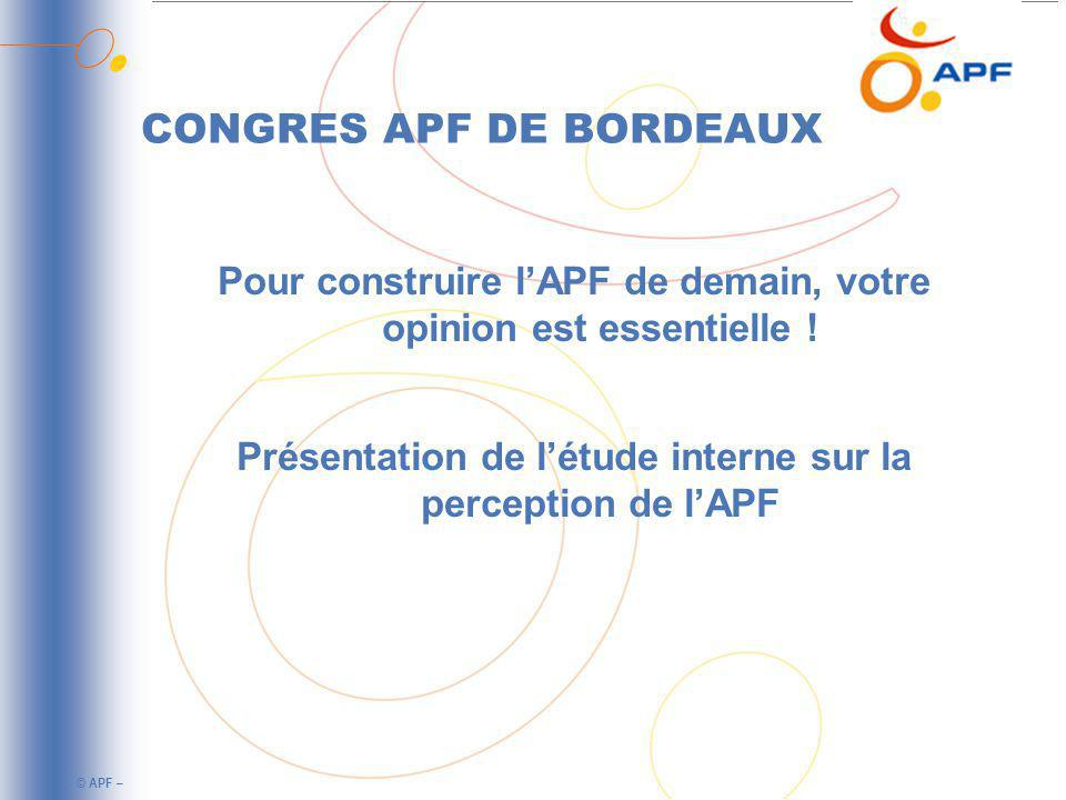 CONGRES APF DE BORDEAUX