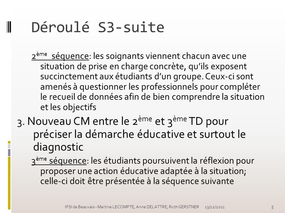 Déroulé S3-suite
