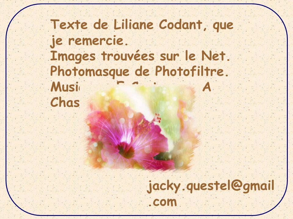Texte de Liliane Codant, que je remercie.