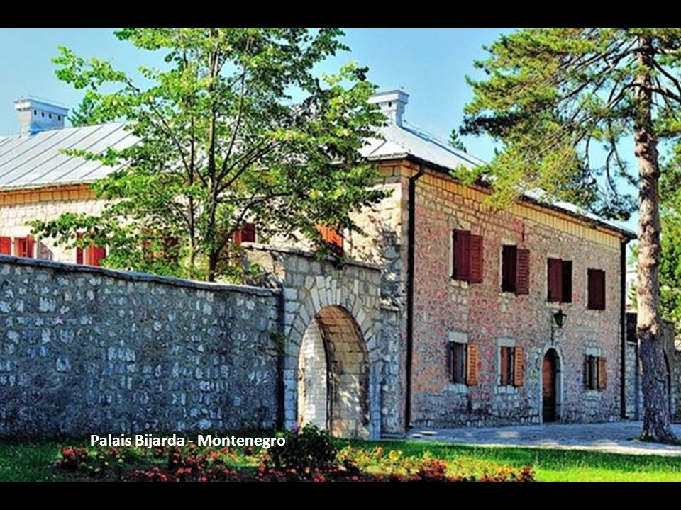 Palais Bijarda - Montenegro