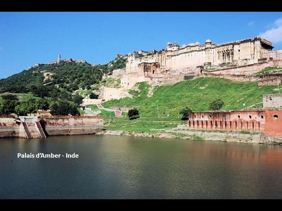 Palais d'Amber - Inde