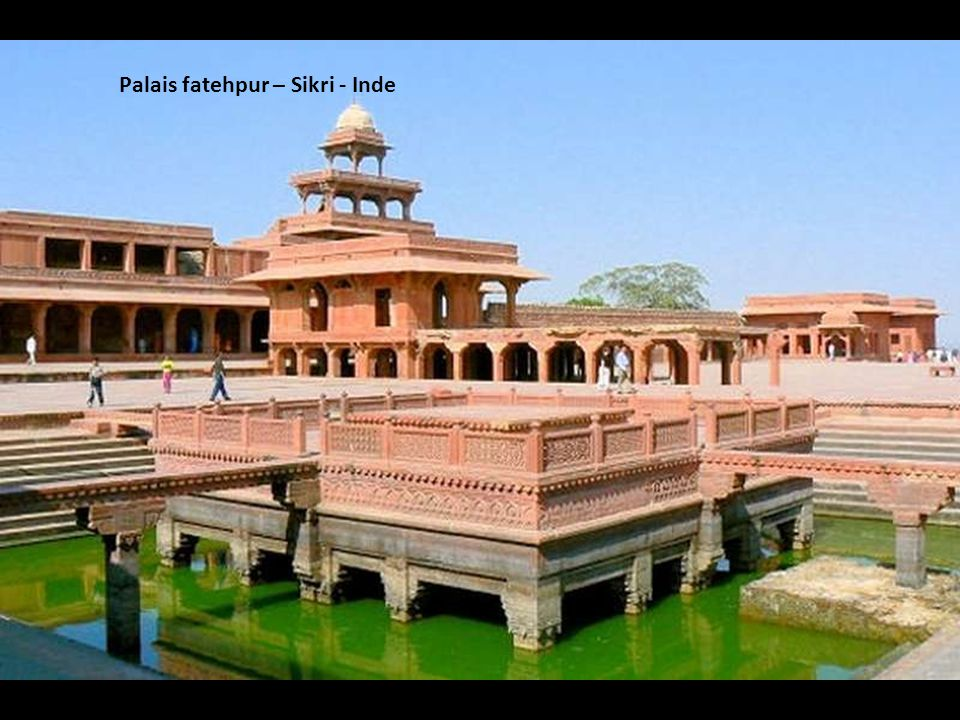 Palais fatehpur – Sikri - Inde