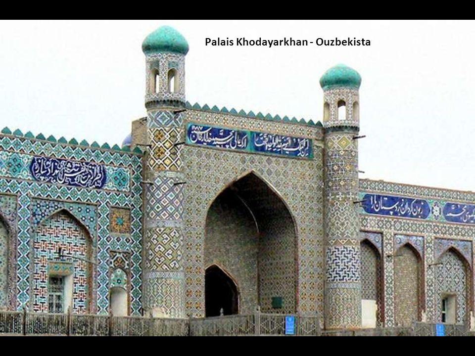 Palais Khodayarkhan - Ouzbekista