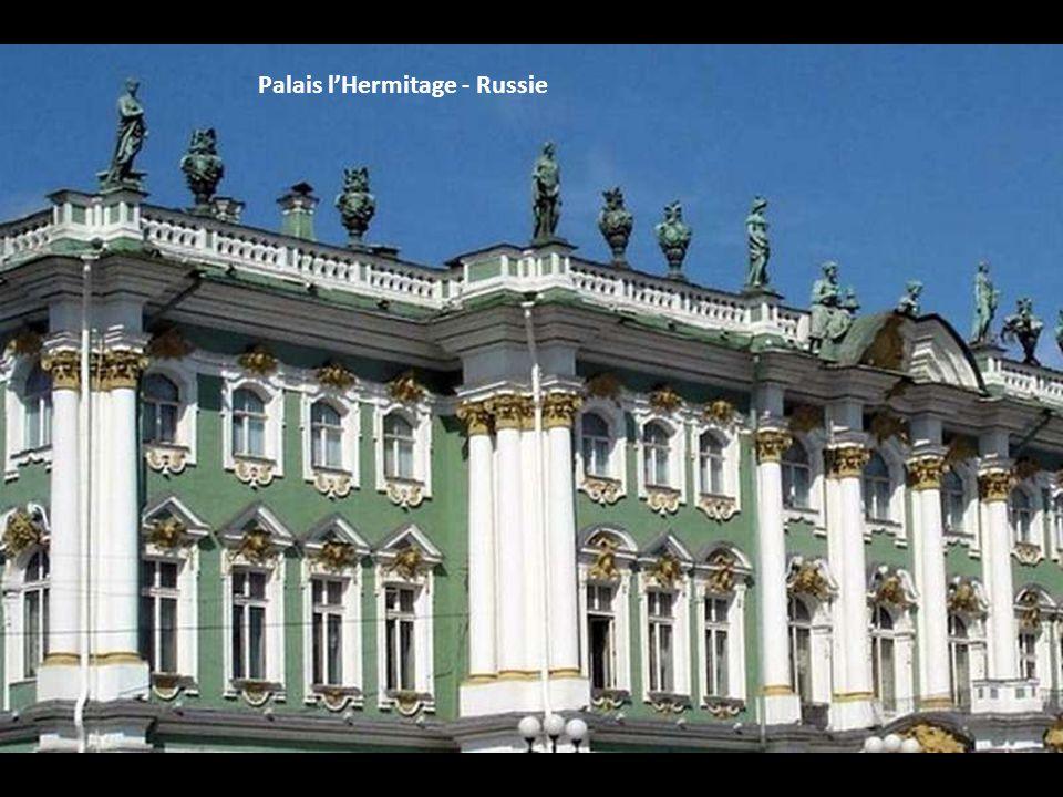 Palais l'Hermitage - Russie