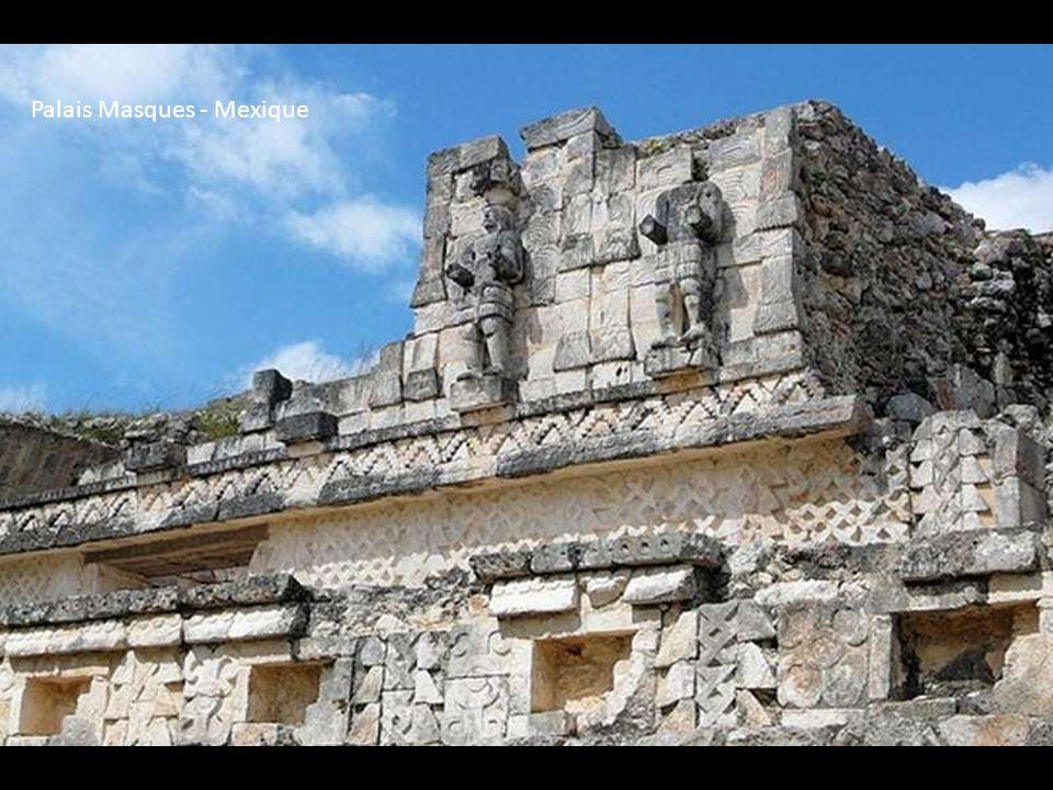 Palais Masques - Mexique