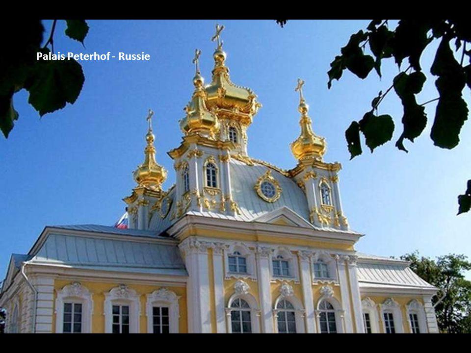 Palais Peterhof - Russie