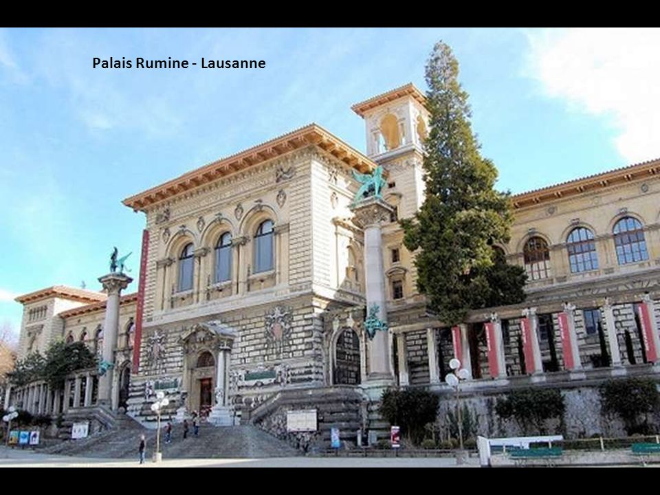 Palais Rumine - Lausanne