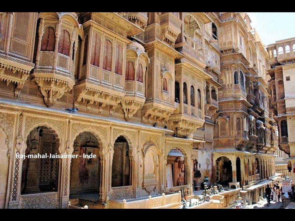 Raj-mahal-Jaisaimer - Inde