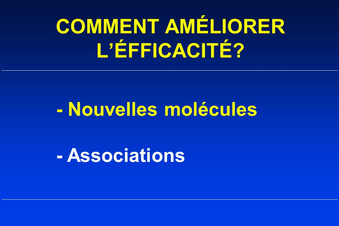 COMMENT AMÉLIORER L'ÉFFICACITÉ