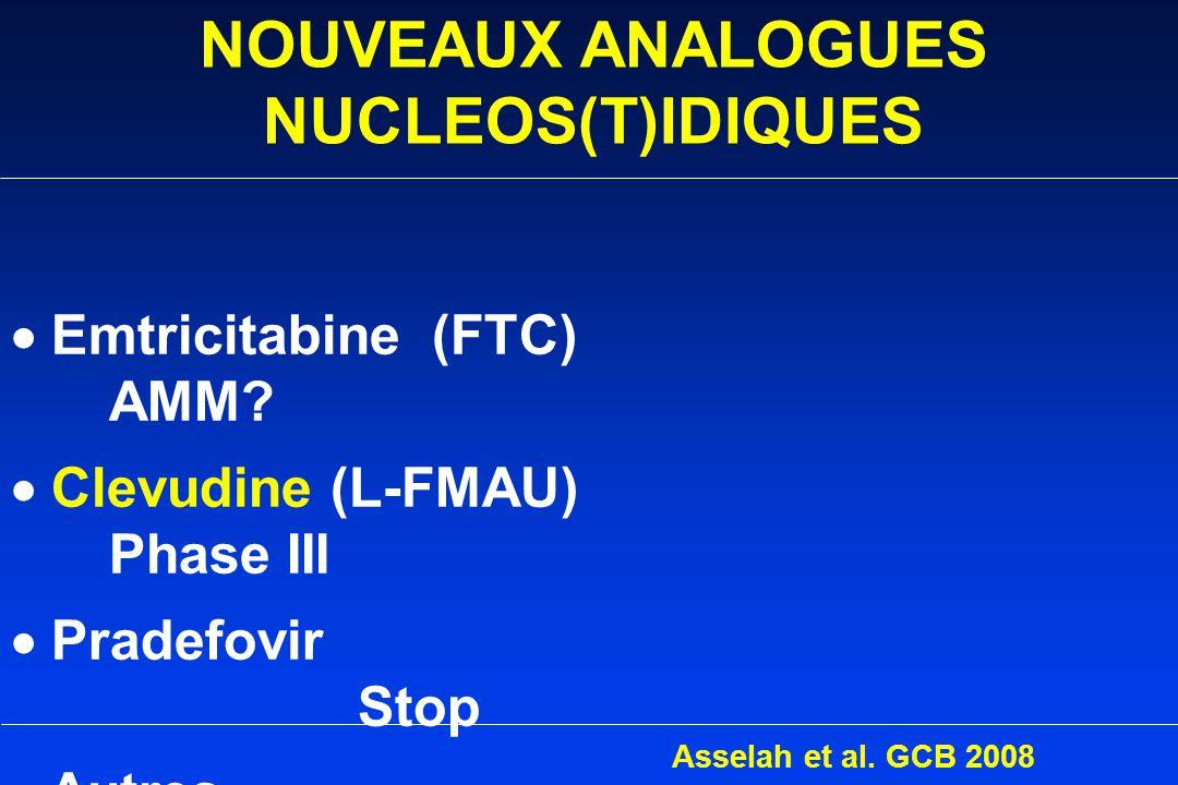 NOUVEAUX ANALOGUES NUCLEOS(T)IDIQUES