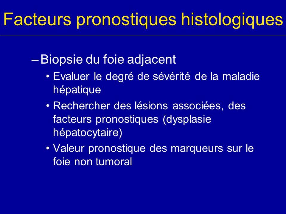Facteurs pronostiques histologiques