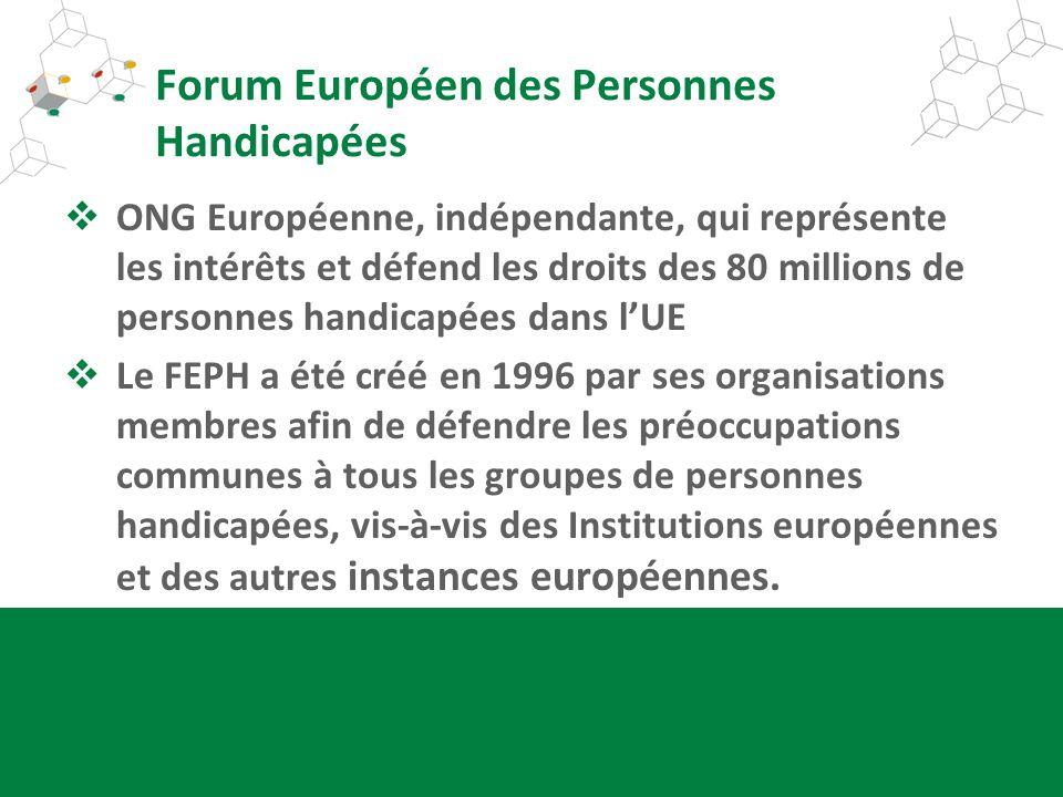 Forum Européen des Personnes Handicapées