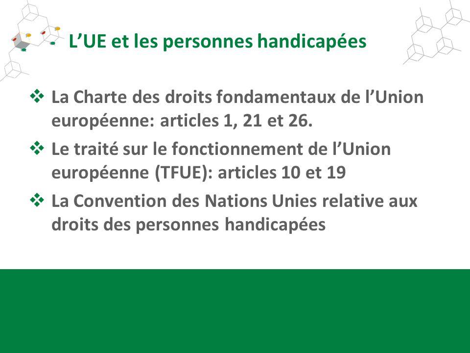 L'UE et les personnes handicapées