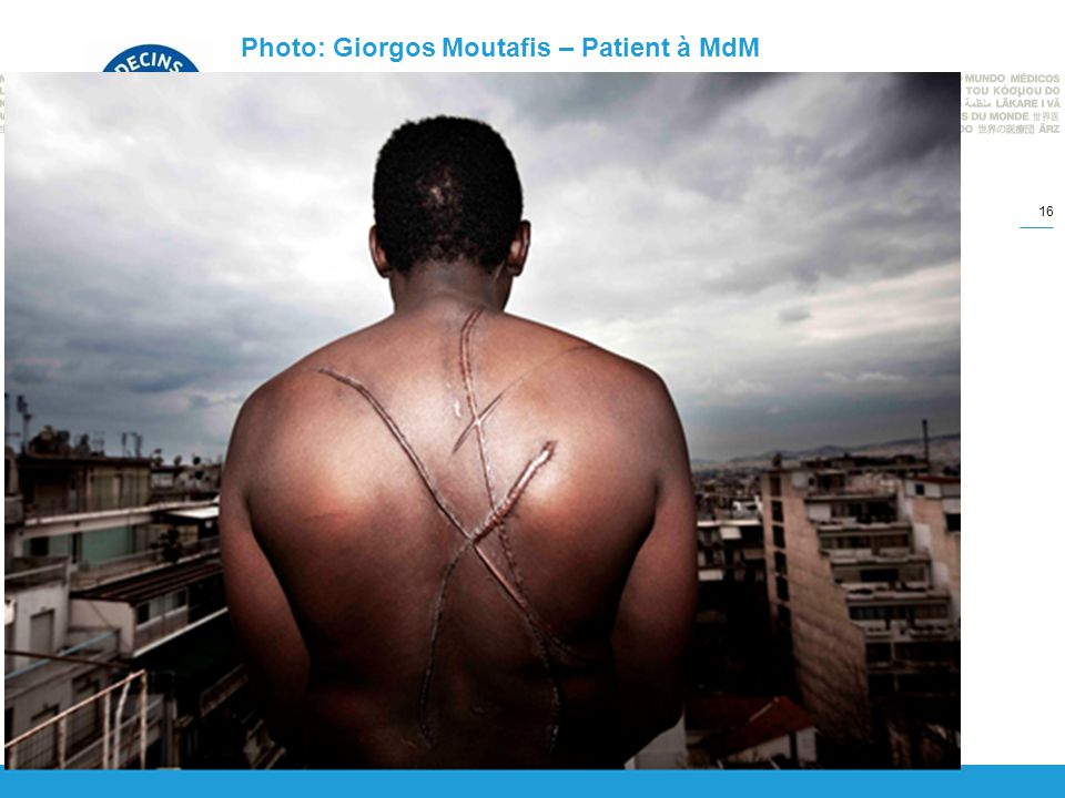 Photo: Giorgos Moutafis – Patient à MdM