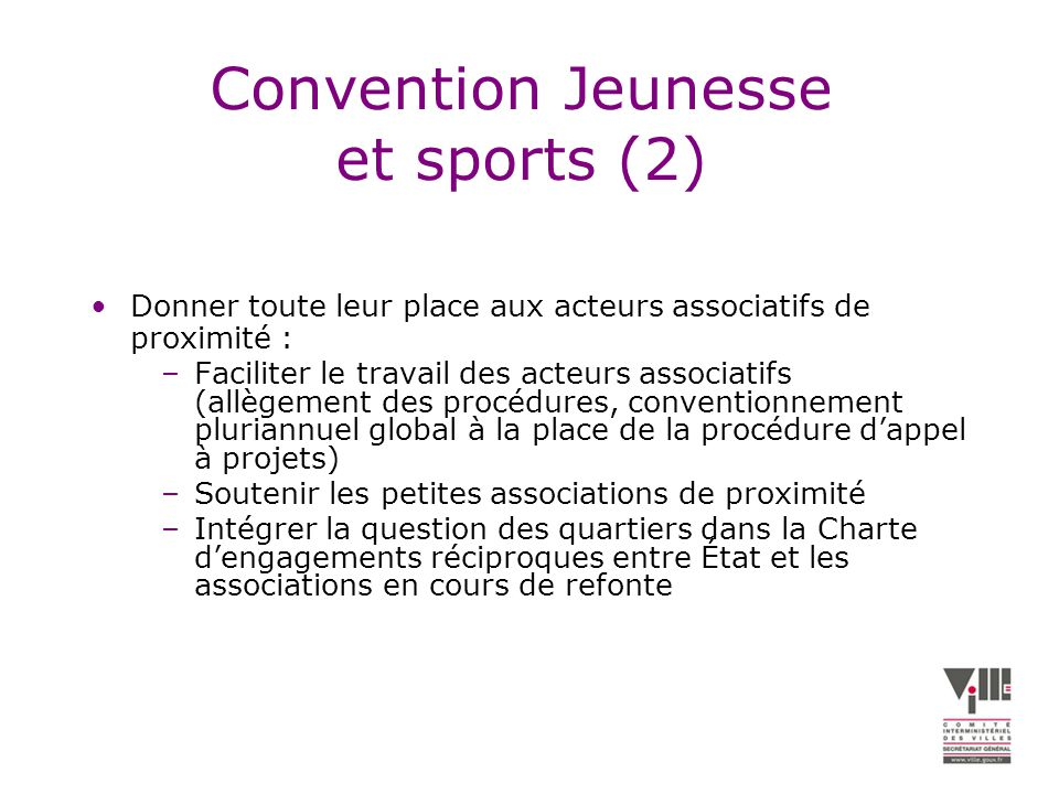 Convention Jeunesse et sports (2)