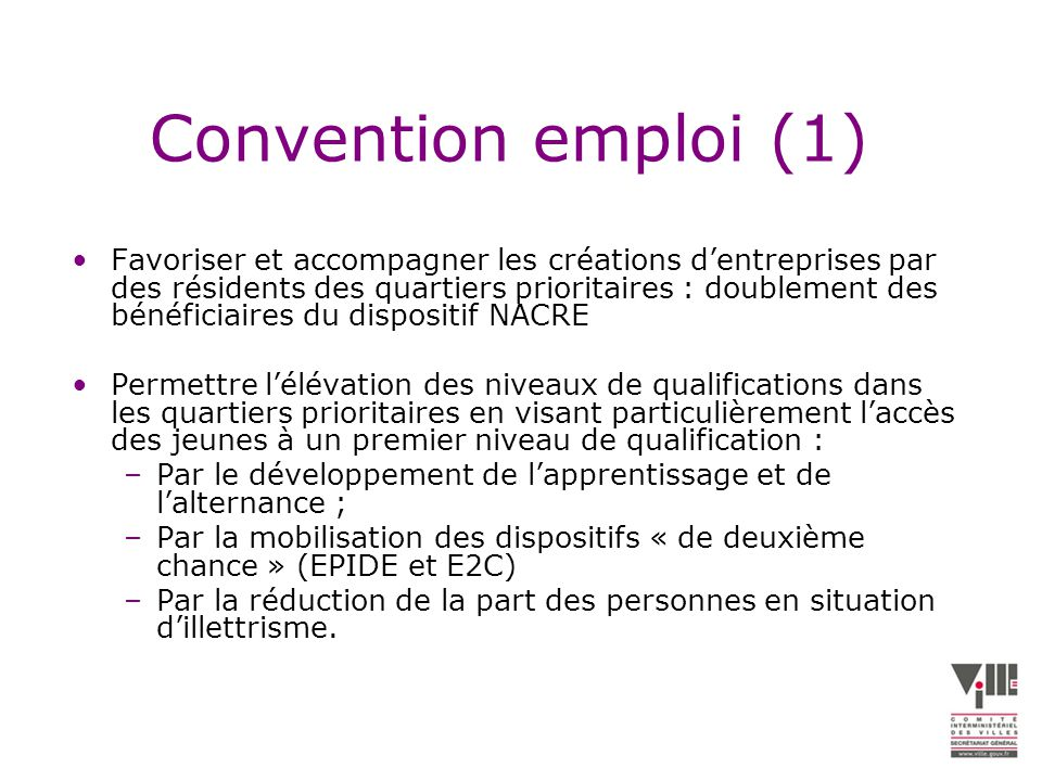 Convention emploi (1)