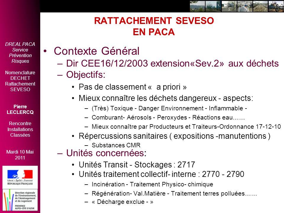 RATTACHEMENT SEVESO EN PACA