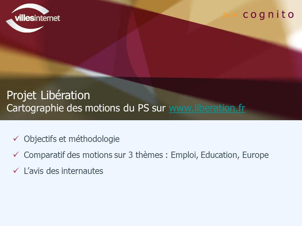 Projet Libération Cartographie des motions du PS sur www.liberation.fr