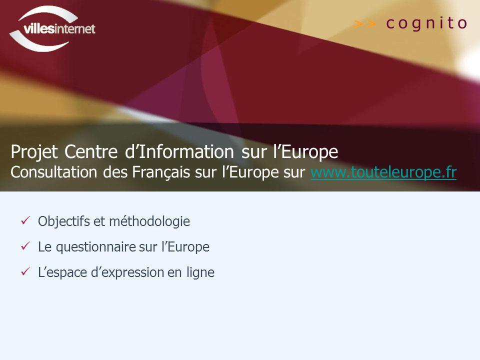 Projet Centre d'Information sur l'Europe
