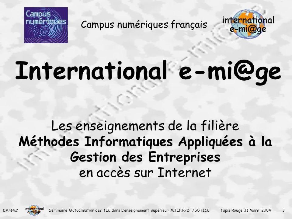 International e-mi@ge