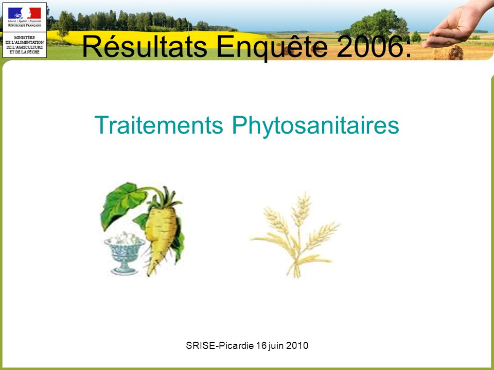 Traitements Phytosanitaires