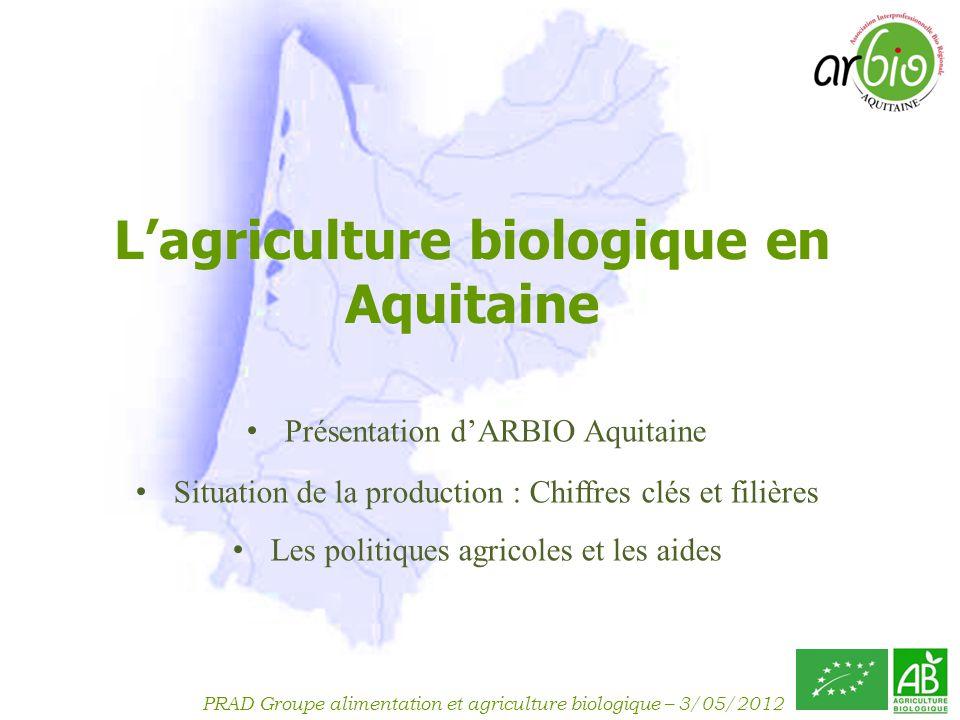 L'agriculture biologique en Aquitaine