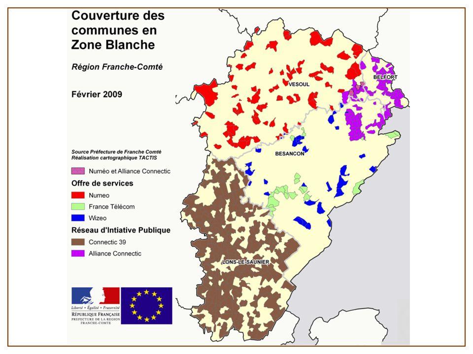 C'est pourquoi les collectivités ont très tôt engagé une réflexion puis des actions pour traiter les zones blanches.